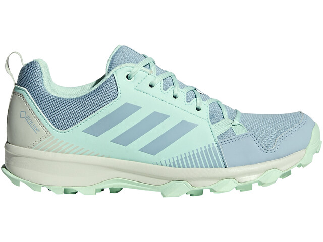 good looking best shoes on feet at adidas TERREX TraceRocker GTX Trail-Running Shoes Women ash grey/ash  grey/clear mint